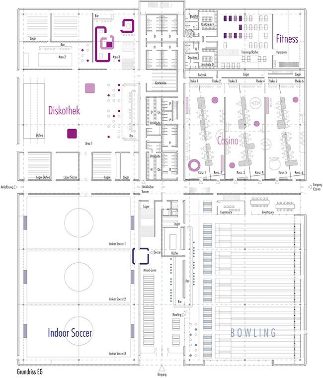 sports + eventcenter, Overath
