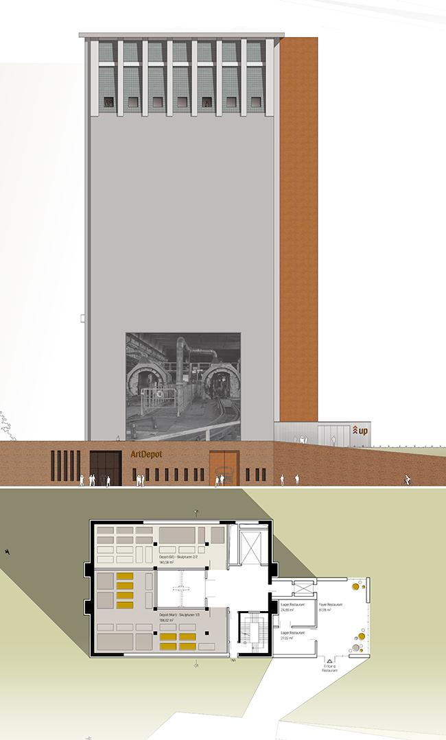 Neue Zeche Westerholt, Gelsenkirchen, Herten