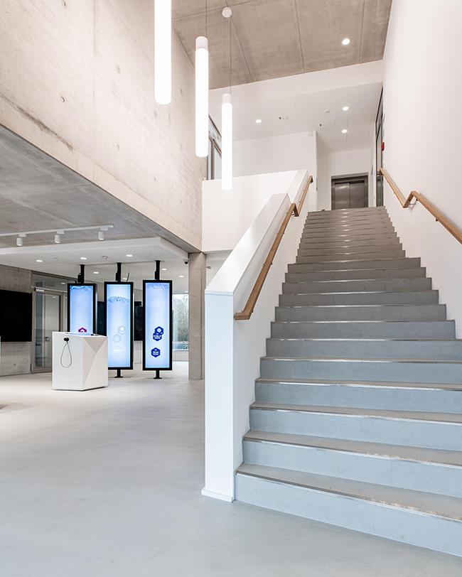 Leitwarte RAG Aktiengesellschaft Am Standort Pluto in Herne