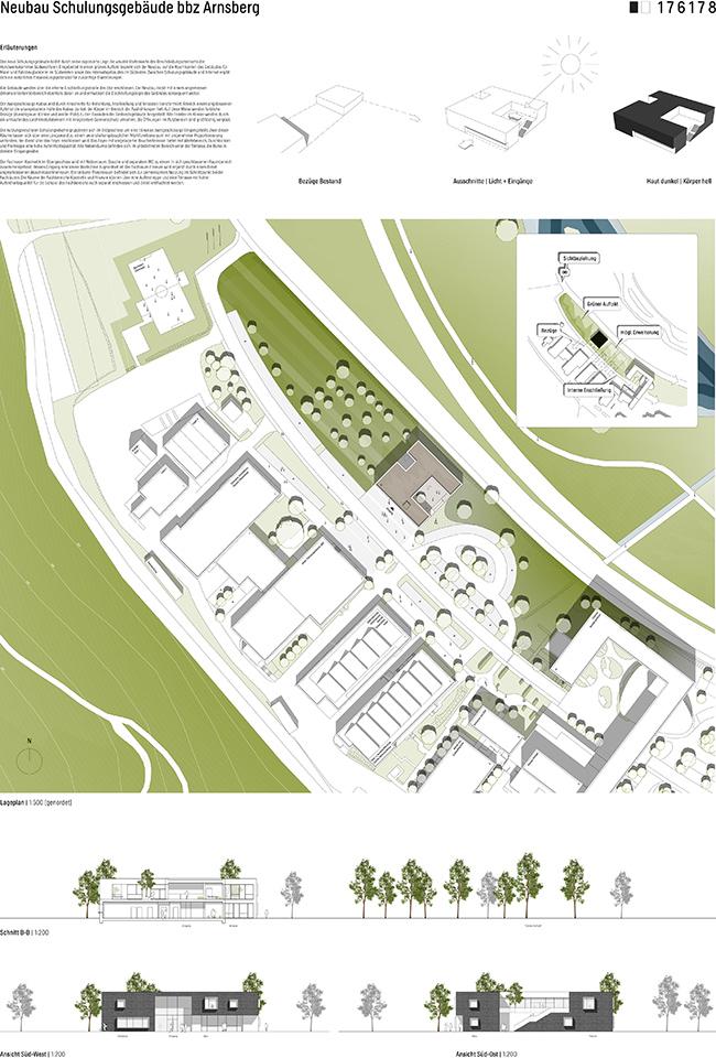 Neubau Schulungsgebäude bbz Arnsberg